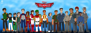 Planes: The Cast by Aileen-Rose