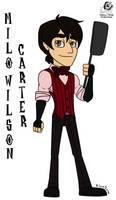 DST: Milo Wilson Carter by Aileen-Rose