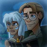 55 Classic Disney Movies Collab: Atlantis by Aileen-Rose