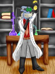 Artie the Science Geek by ChloeCassandra