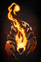 Flame Scorpion by DeathsProdigy