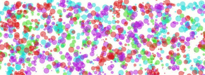 Rainbow Splatter by Atea1793