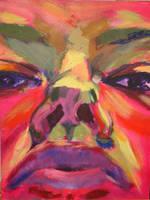 Self-portrait by stortfan