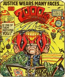 2000AD Judge Dredd Vector 2 by StellaDave