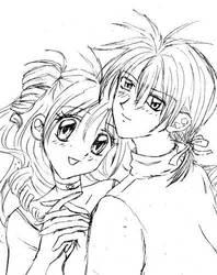 Takuto Love Mitsuki by LittleNanami