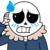 Worried/Blushing Sans Emote