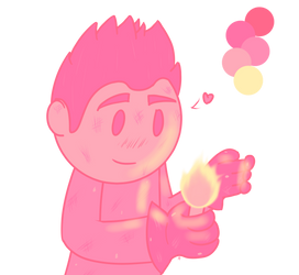 Pink Lemonade Flames by AwesomeSilver