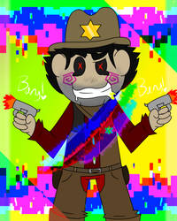 [Candy Dandy Cowboy] by AwesomeSilver