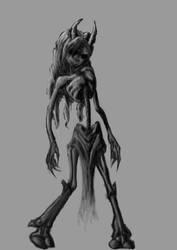 Skinny Forest Dweller by DarkLuka