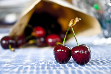 Christmas Cherry by DarkLuka