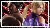 Kazuya and Nina  stamp by EvilMaybe