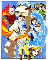 Avatar: The Last AirBender by xPrincessSakurax