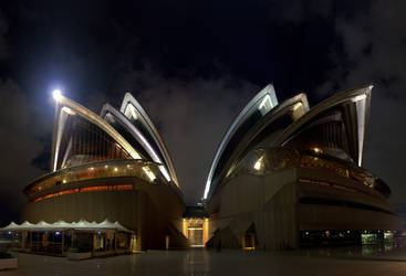 Imposing Opera House by Bobby01