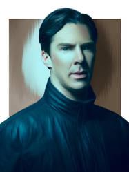 Benedict Cumberbatch by AlphBertillon
