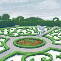 Canterlot Gardens 6 by Dahtamnay