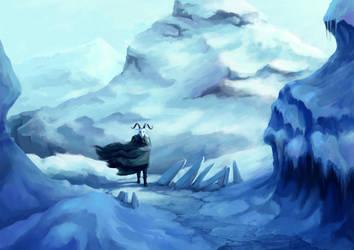 Frozen Landscape by Dahtamnay