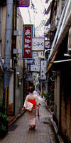 Streets of Kyoto by JeanneABeck