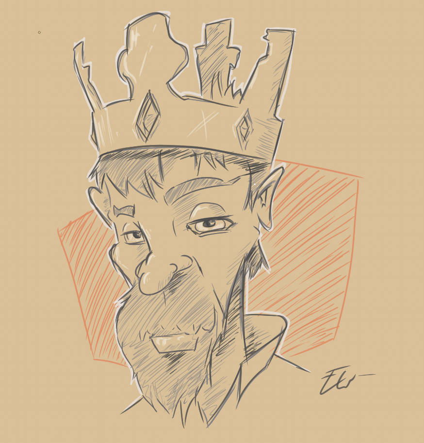 King scetch by eriwib