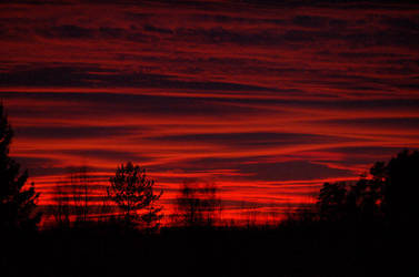 Another January Sunset by Marthep