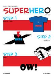 3 steps to a superhero by sparkica