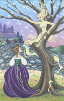 Cinderella and her Mother's Tree by snuapril01