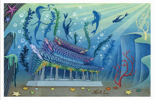 Asian mermaids' palace by snuapril01