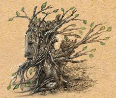 Talking Tree by snuapril01