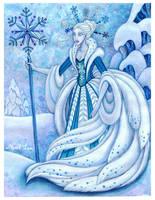 snow queen by snuapril01