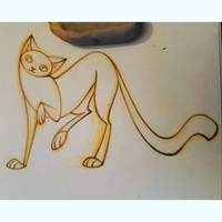 cat character design sketch by snuapril01
