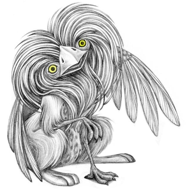 an Owl Gryphon by snuapril01