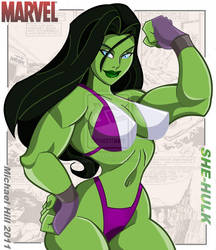SHE HULK COLORED 2 by icemaxx1