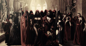 SAINTS ORGY in closeup by KKL
