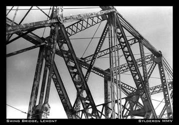 Swing Bridge, Lemont. by Sylderon