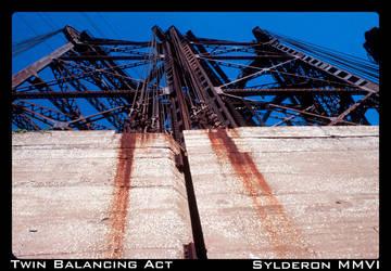 Twin Balancing Act by Sylderon