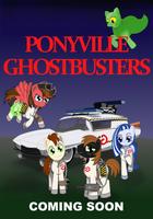 Commission: Ponyville Ghostbusters Poster - Ver3 by meganschmidt