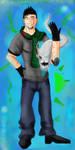 ART TRADE: DeathRage22 by ShadowChaser12