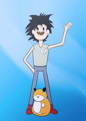 Weekly Challenge: Bravest Warriors styled Hiro by DaNaoDai