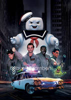 Ghostbusters by andy-lambert-art