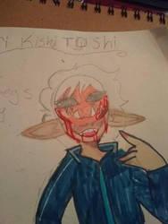toshinori kishi toshi by dragonshadow788
