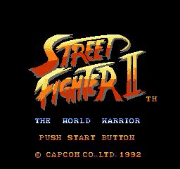 SFII (NES Version - SNES Style) by SupaStarFox