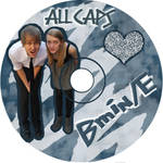 ALL CAPS CD Disc by netsrikb
