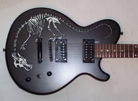 Custom Painted Dean Evo by Voodoo-Wolf
