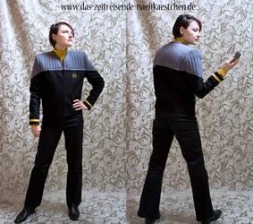 Starfleet Uniform 'First Contact' variant by Stahlrose