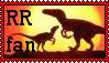 Raptor Red Stamp by grayorca