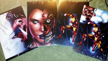 OH AND POSTERS TOO!!! by DrBrainMonsters