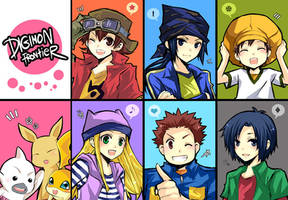 Digimon Frontier by kaokmchan