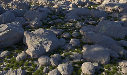 Stones Shader version 1 by Tangled-Universe