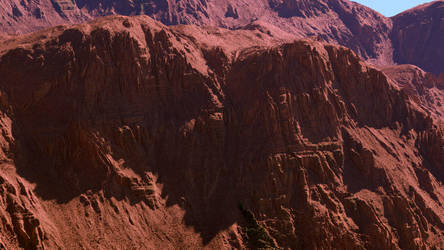 Arid Red Cliffs by Tangled-Universe