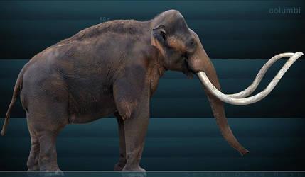 columbian mammoth by serchio25