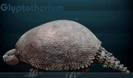 Glyptotherium by serchio25
